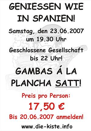 Gambas Essen Sa. 23.06.2007