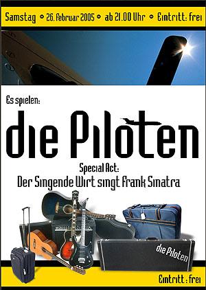 Die Piloten - Live Sa. 26.02.2005