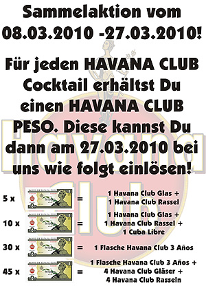 Havana Sammelaktion