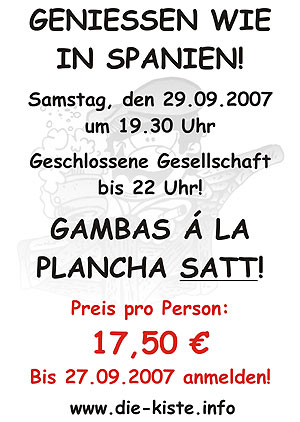 Gambas Essen Sa. 21.10.2006