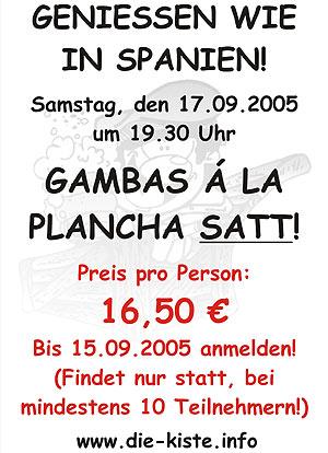 Gambas Essen Sa. 17.09.2005